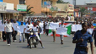 Manifestation à Bujumbura contre un rapport de l'ONU