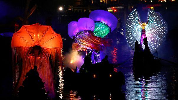 Máscaras y espectáculo en los canales: arranca el Carnaval de Venecia