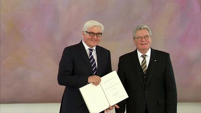 ФРГ: Штайнмайера выбирают президентом
