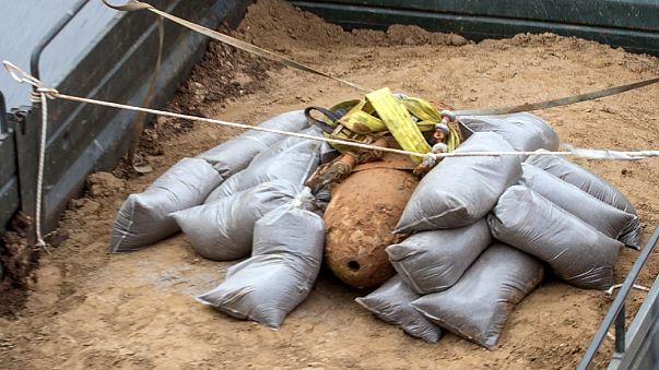 Yunanistan'da 2. Dünya Savaşı'ndan kalma bomba bulundu