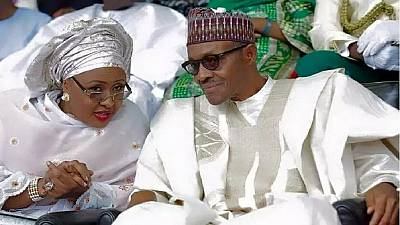Nigeria's first lady returns to Abuja, Buhari still expected