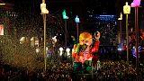 Karneval: Nizza und Venedig feiern