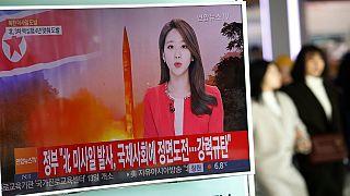 La Corée du Nord tire un missile balistique vers la mer du Japon