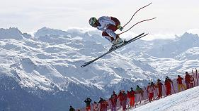 فوز و استوئک دو قهرمان رقابتهای اسکی سرعت قهرمانی جهان در سن موریتس