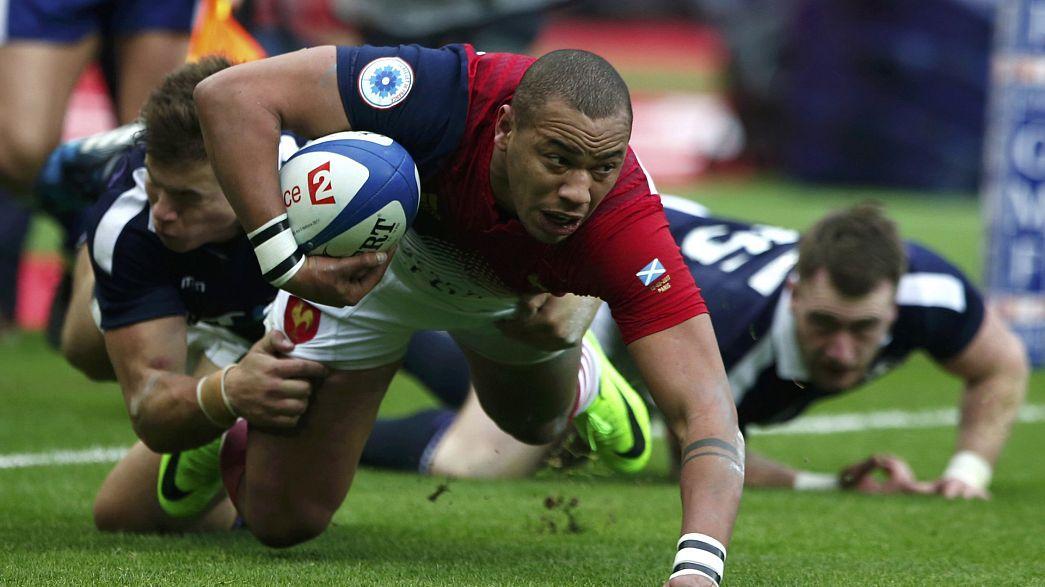 Rugby Six Nations: Frankreich siegt mühevoll gegen Schottland