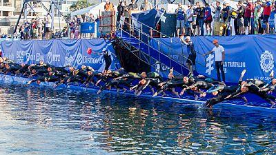 Triathlon : Richard Murray et Lucie Hall impériaux Cape Town