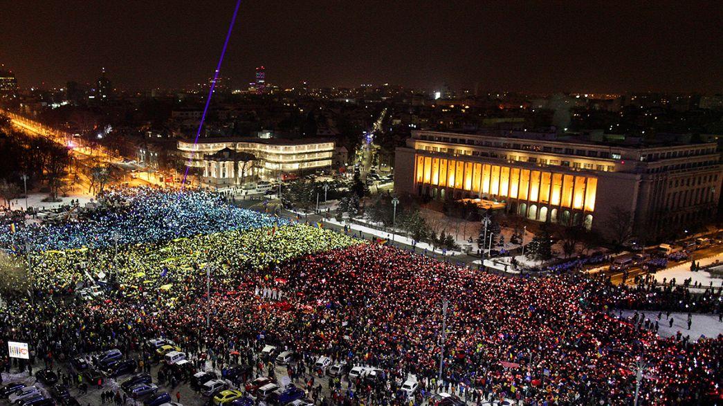 Roménia: Domingo de protesto junta milhares em todo o país