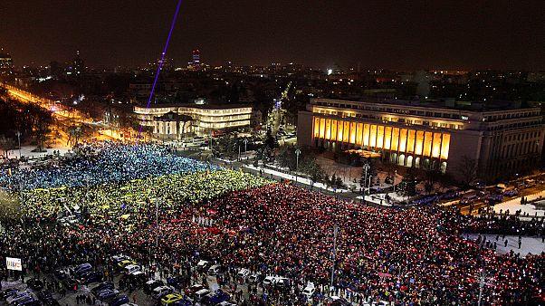 استمرار الاحتجاجات في رومانيا ضد شرعنة الفساد