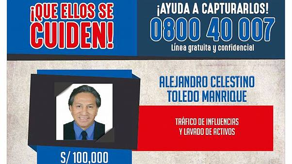 درخواست از دونالد ترامپ برای استرداد سیاستمدار فراری پرو