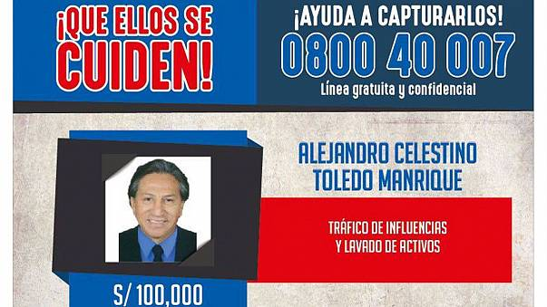 Perú pide a EEUU que deporte a Alejandro Toledo