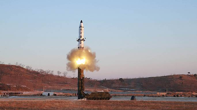 Nach Raketentest Nordkoreas: USA, Japan und Südkorea fordern Dringlichkeitssitzung des UN-Sicherheitsrates