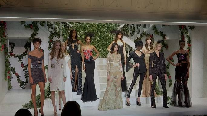 New York Fashion Week kicks off among snow storms
