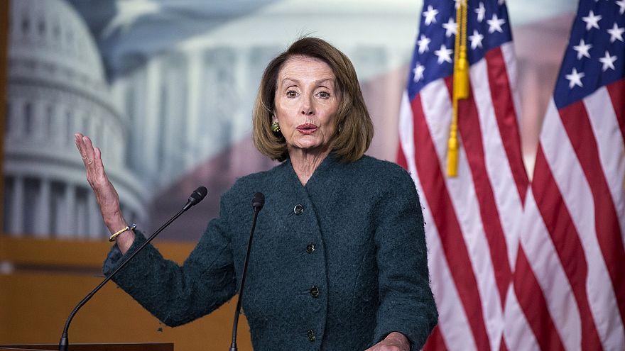 Image: US Speaker of the House Nancy Pelosi