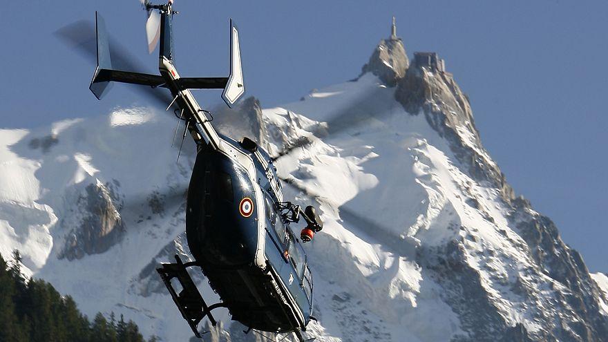 انهيار ثلجي يودي بحياة اربعة اشخاص على الأقل في جبال الالب الفرنسية