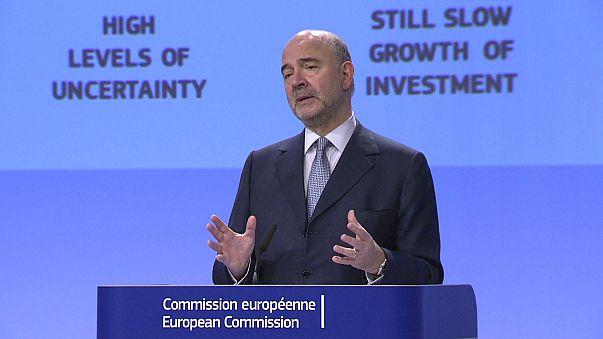 AB Euro Bölgesi büyüme tahminlerini artırdı