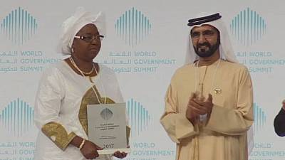 Senegal's health minister honoured at World Government Forum