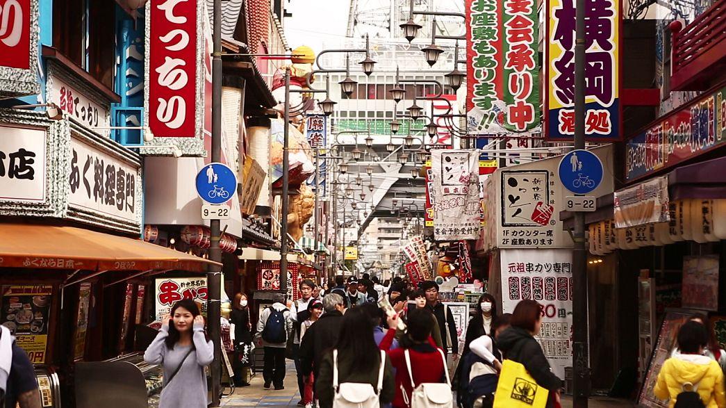 Economia do Japão cresce 1% em 2016