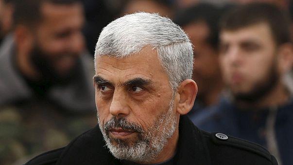 انتخاب يحيى السنوار على رأس المكتب السياسي لحماس في غزة، خلفا لهنية