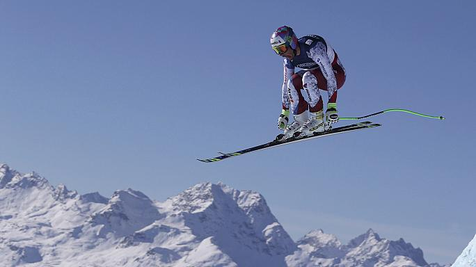 Alpine skiing: Aerni wins shock gold at Worlds