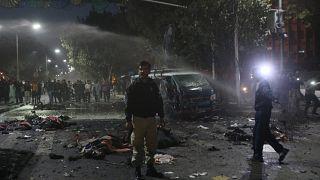 انفجار انتحاری در لاهور پاکستان دست کم ۱۰ کشته  برجای گذاشت