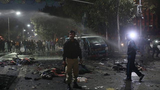 Pakistan : un attentat des talibans fait au moins 10 morts et une soixantaine de blessés