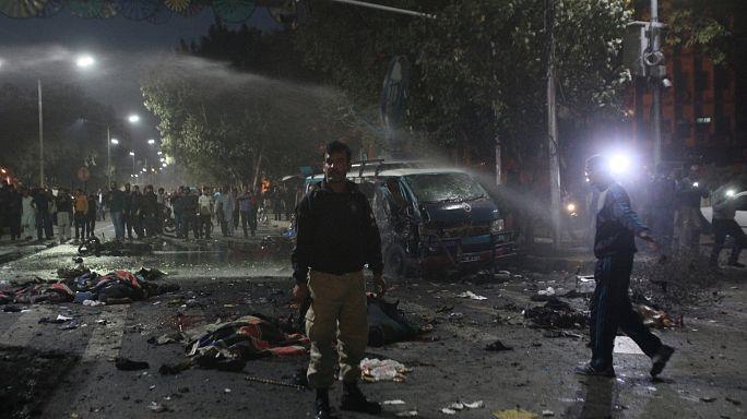 Pakistan: Etliche Tote bei Anschlag im Zentrum von Lahore