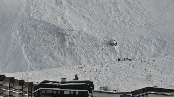 إنهيار ثلجي في جبال الألب الفرنسية تخلف أربعة قتلى
