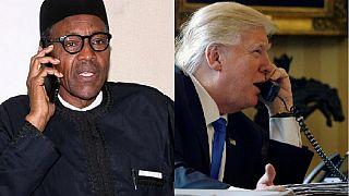 Trump ready to support Boko Haram combat, lauds Buhari for rescue of 24 Chibok girls
