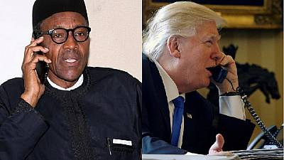 Trump ready to support Boko Haram combat, lauds Buhari for rescue of 24 Chibok girls