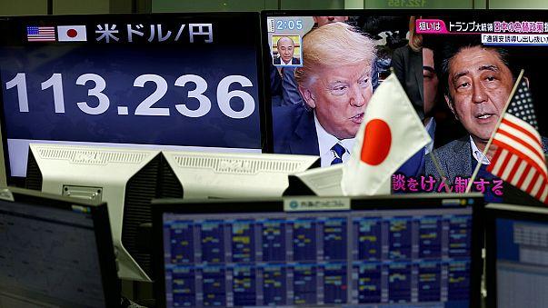 Bolsa norte-americana animada com promessas de Trump