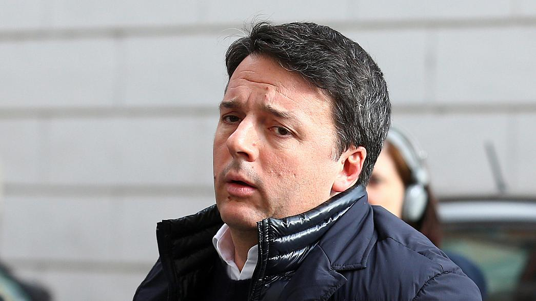 Italy's former prime minister Matteo Renzi throws down the gauntlet