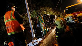 Taïwan : un accident de bus fait 32 morts