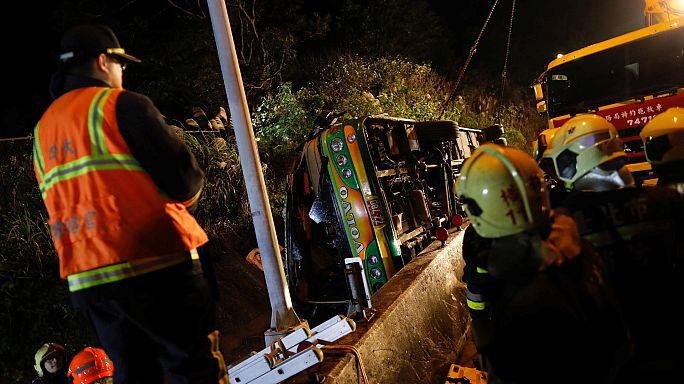 ДТП в Тайване: погибли свыше 30 человек