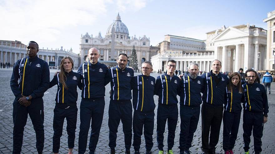 Image: Vatican launches official track and field team