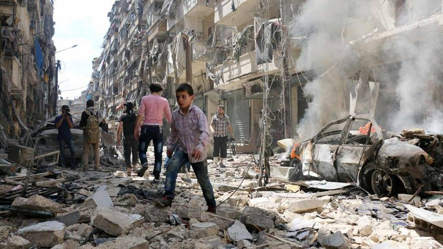 Report chronicles deliberate destruction of Aleppo by Russia and Assad