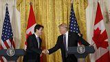 Trump-Trudeau: fókuszban a kereskedelmi kapcsolatok és a bevándorlás