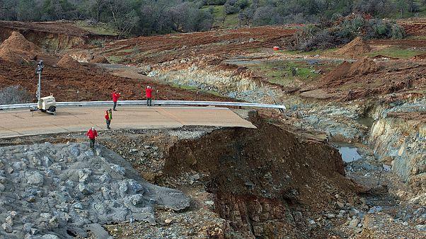 Les autorités californiennes redoublent d'effort pour sauver le barrage d'Oroville