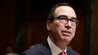Goldman Sachs veteran is sworn in as US Treasury secretary
