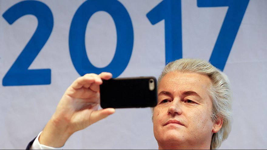 İslam karşıtı Geert Wilders anketlerde ilk sırada