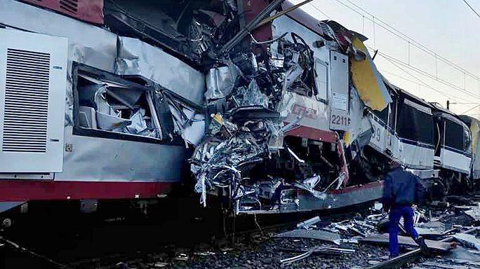 Два поезда столкнулись в Люксембурге
