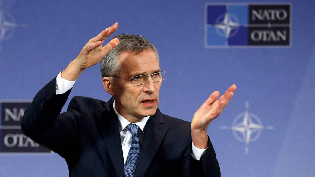 NATO chief urges allies to deliver on spending promises