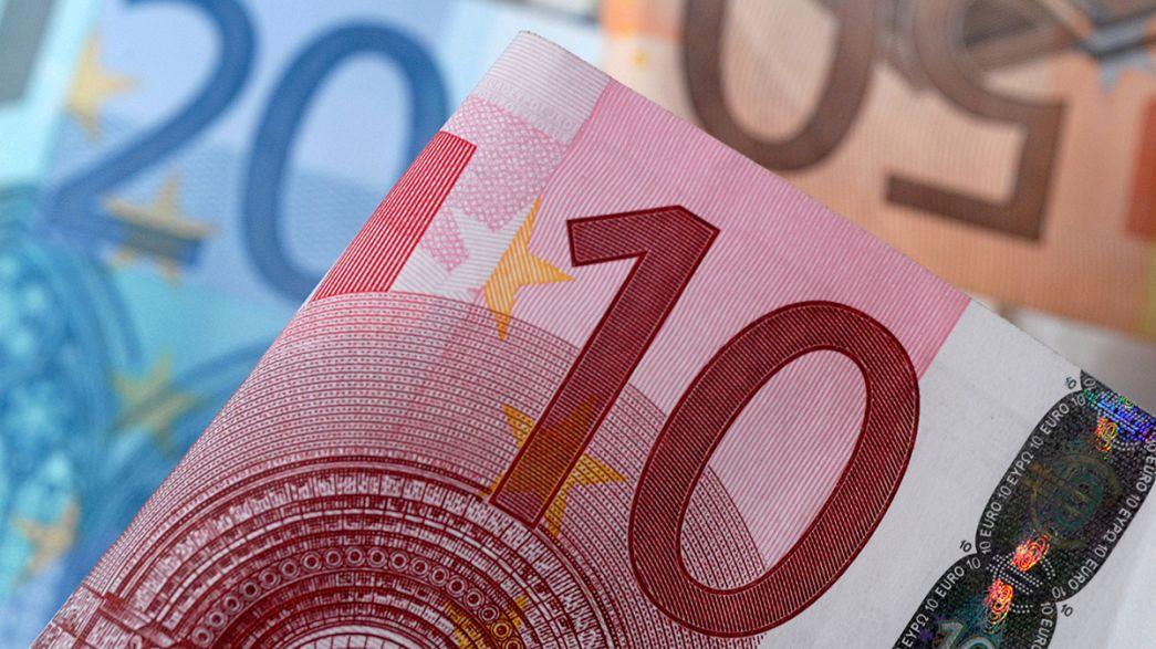 Eurostat revê em baixa crescimento da zona euro