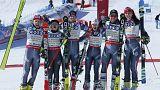 Французские горнолыжники стали чемпионами мира в командных соревнованиях