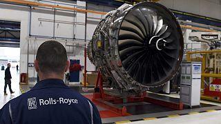 Rolls-Royce registra unas pérdidas anuales récord por una libra débil y un caso de corrupción