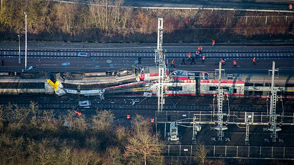 Train ignores stop sign in Luxembourg, crashes into another, killing one driver