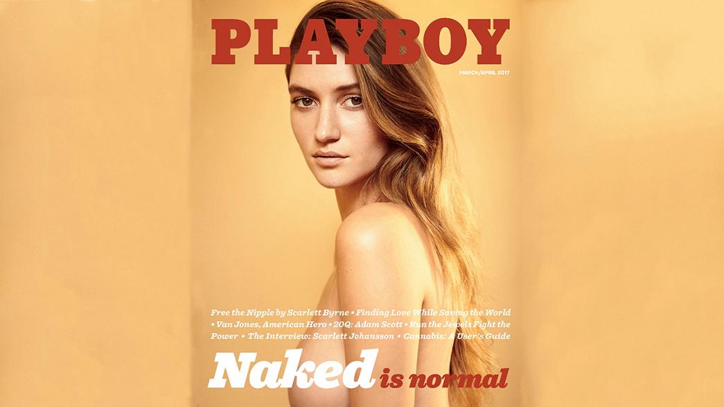 "Revista ""Playboy"" regressa ao nu integral"