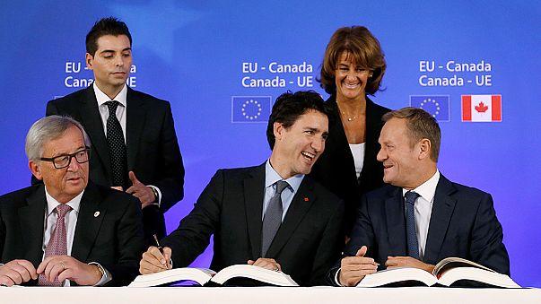 اتفاقية التجارة الحرة مع كندا من أبرز الإهتمامات الأوروبية ليوم الثلاثاء الموافق في الرابع عشر من شباط فبراير 2017