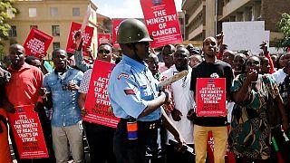 Kenya government wants doctors released