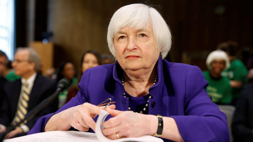Fed-Chefin Yellen winkt mit höheren US-Zinsen