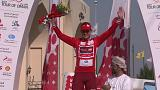 Kristoff takes spoils after spills in Tour of Oman opener